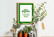 Free-Organic-Photo-Frame-Mockup-PSD