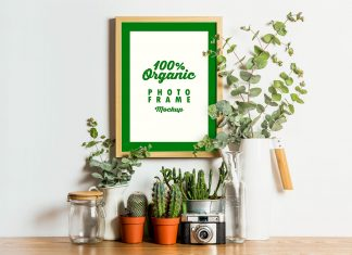 Free-Organic-Photo-Frame-Mockup-PSD