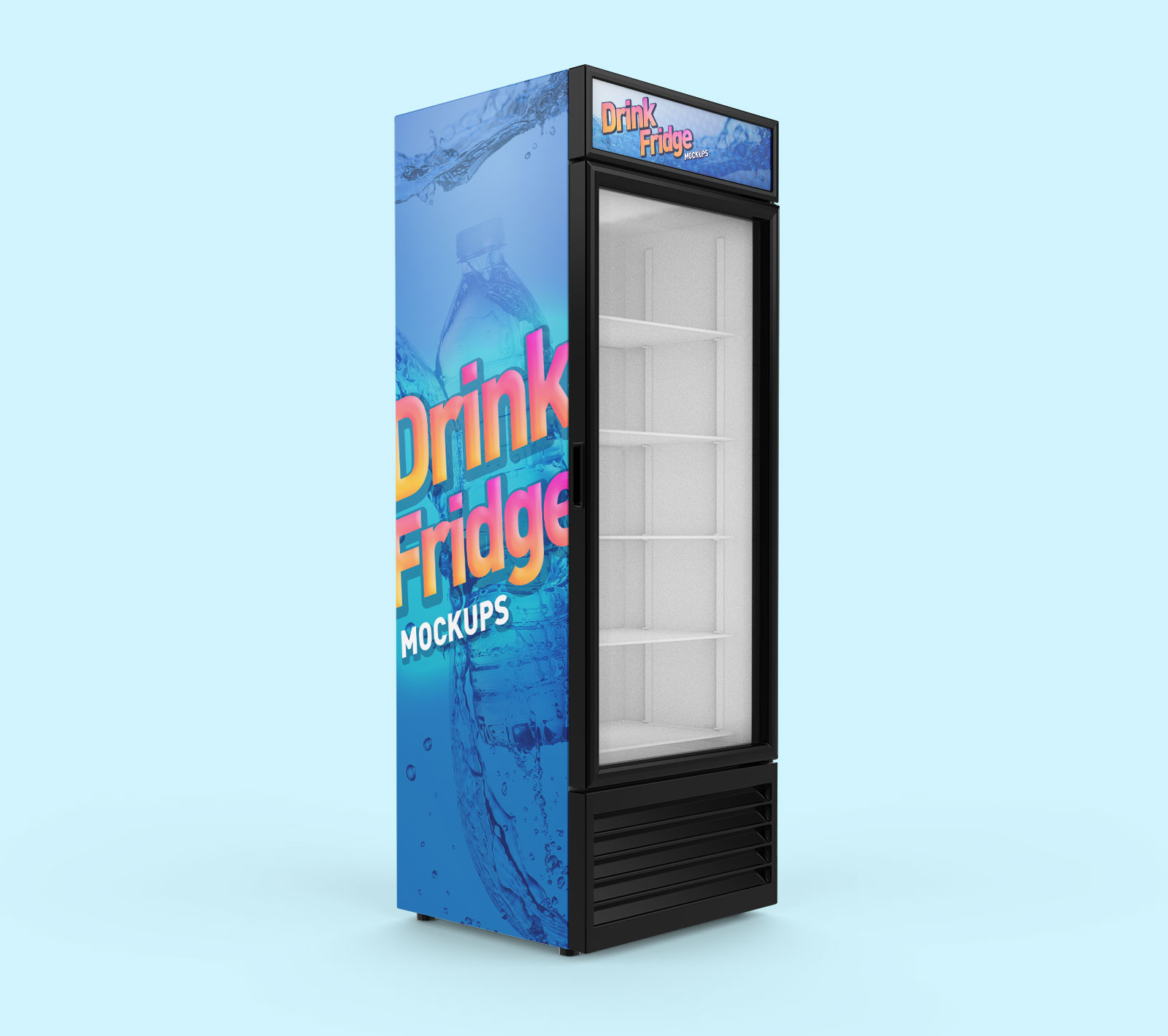 Free-Soft-Drinks-Fridge-Refrigerator-Mockup-PSD-Set-2