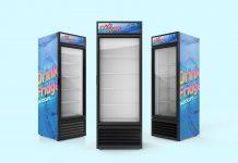 Free-Soft-Drinks-Fridge-Refrigerator-Mockup-PSD-Set