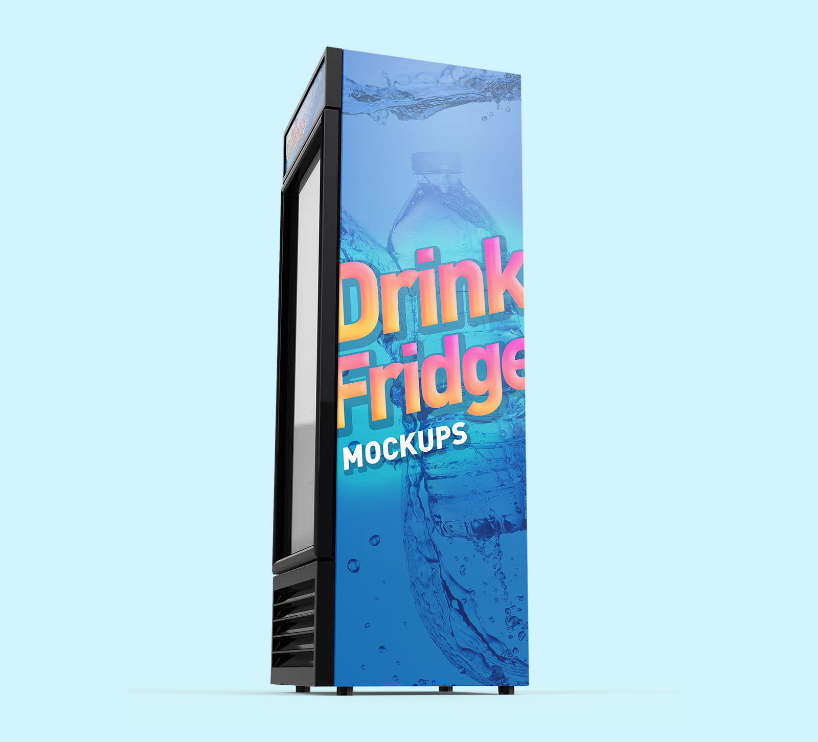 Free-Soft-Drinks-Fridge-Refrigerator-Mockup-PSD-Set-3