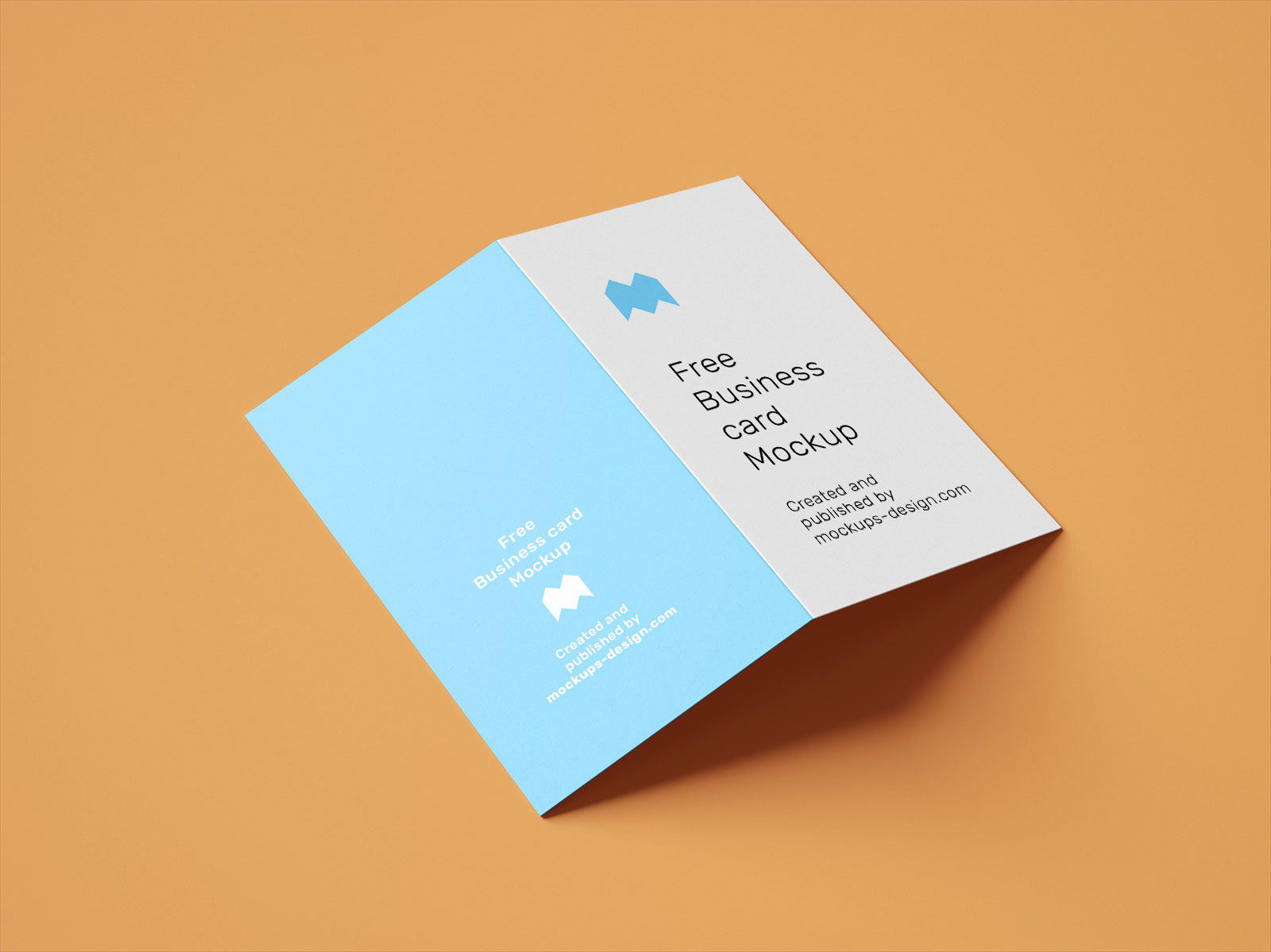 Free-Vertical-Folded-Business-Card-Mockup-PSD-Set-2
