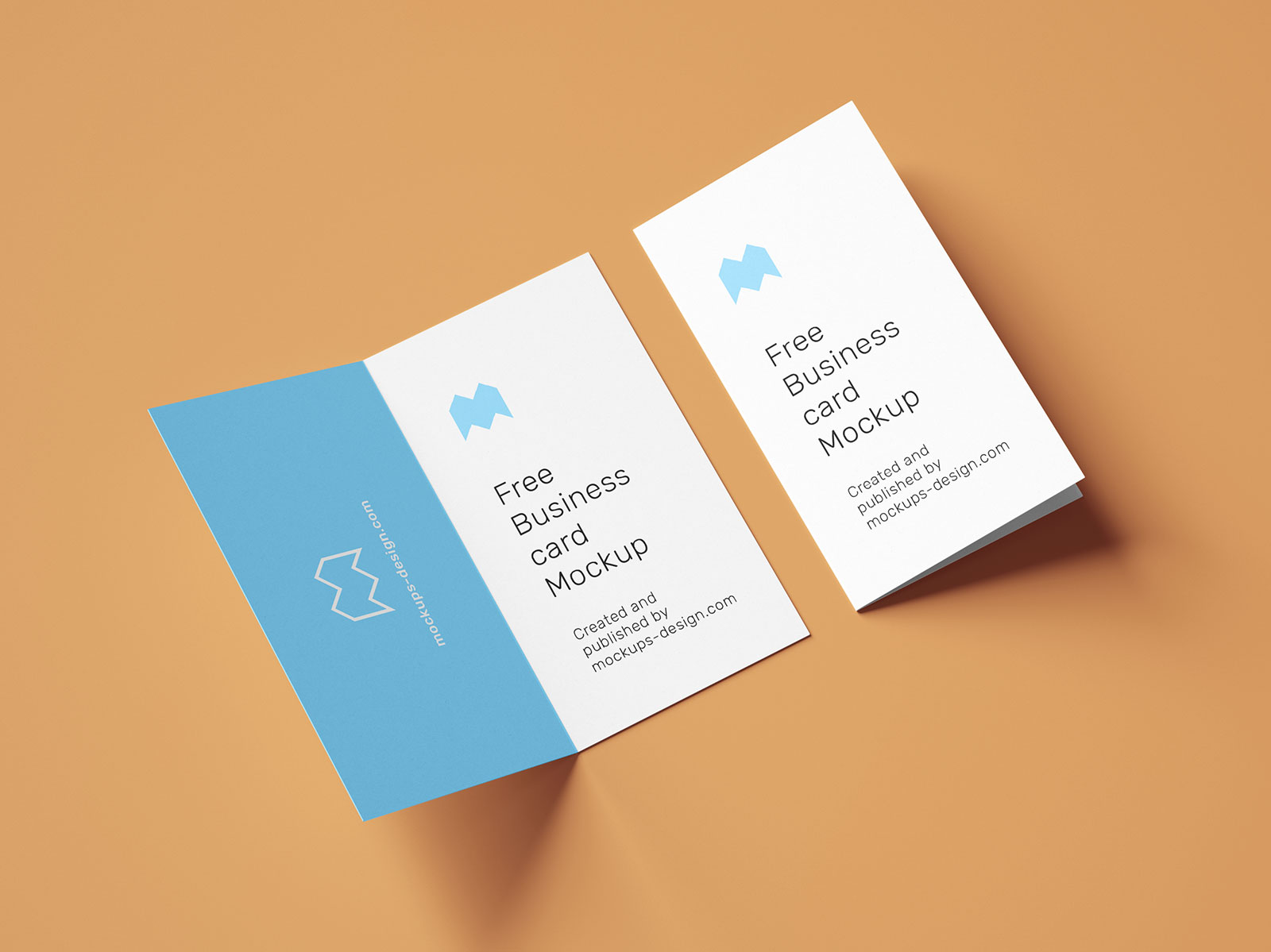 Free-Vertical-Folded-Business-Card-Mockup-PSD-Set-4