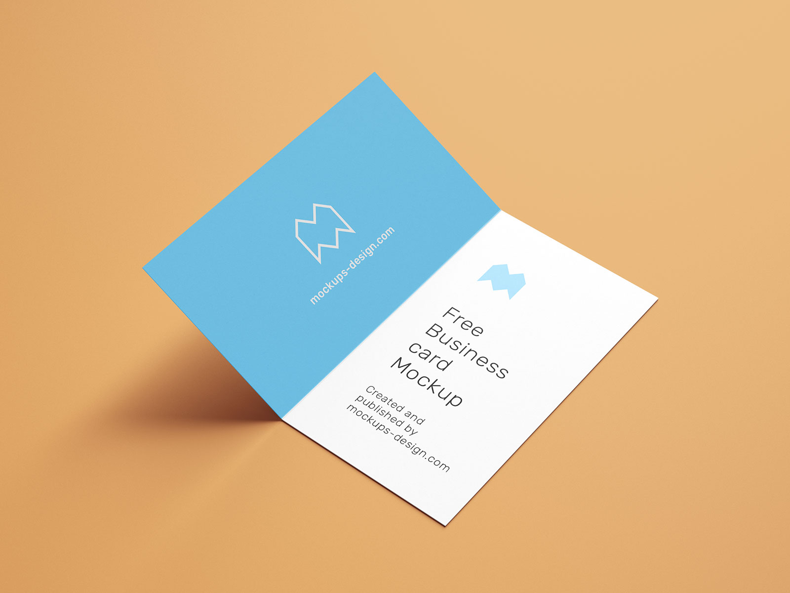 Free-Vertical-Folded-Business-Card-Mockup-PSD-Set-6