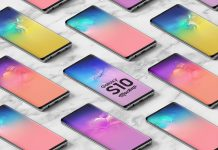 Free-Isometric-Samsung-Galaxy-S10-Mockup-PSD-For-Apps-Display