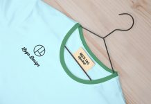 Free-Neck-Tag-Label-&-T-Shirt-Mockup-PSD