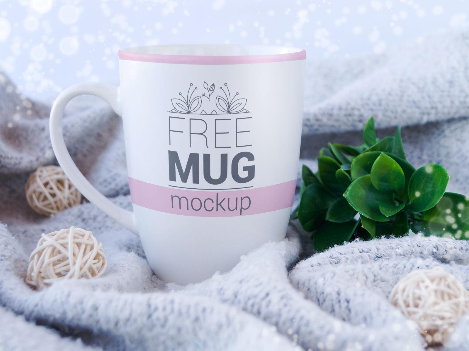 Free Hand Holding Mug Mockup PSD Set (4)