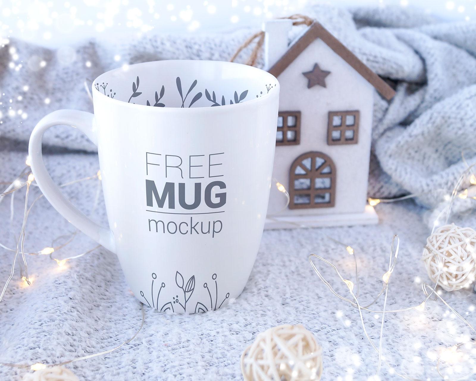 Free Hand Holding Mug Mockup PSD Set (5)