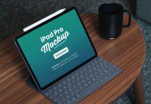 Free-iPad-Pro-2018-Mockup-PSD-with-Keyboard-12.9-Inches