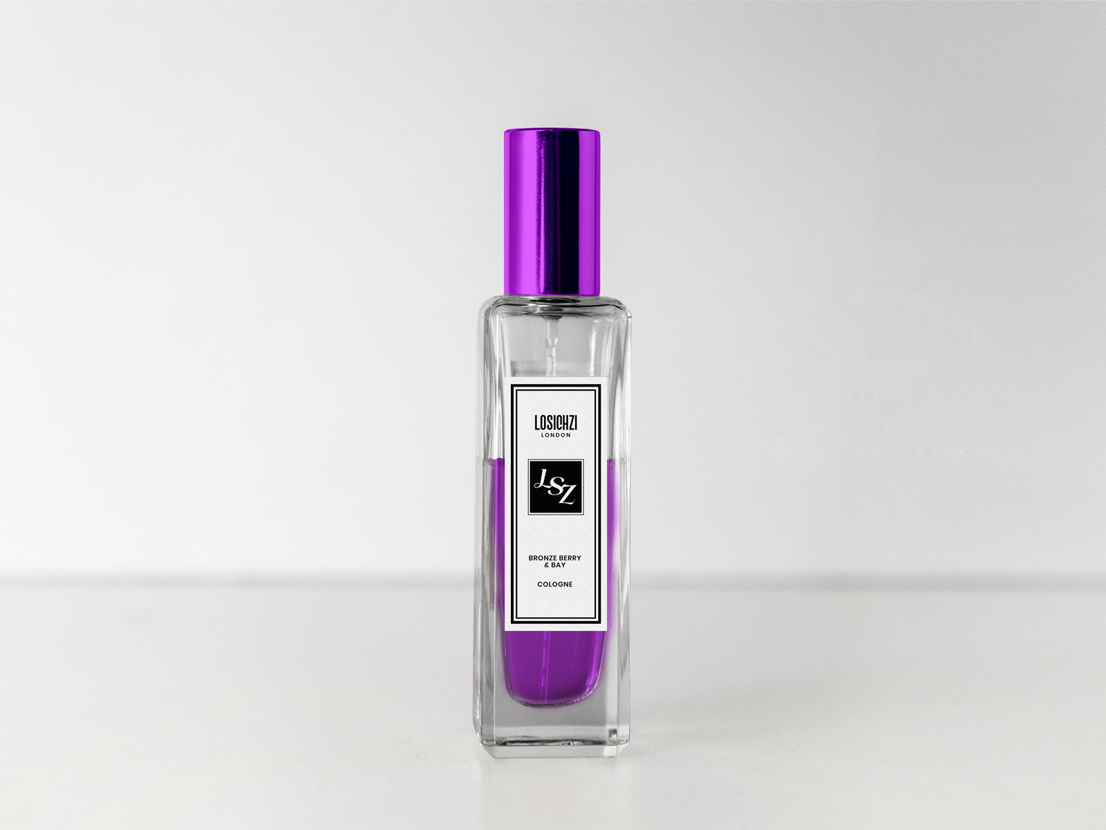 Free Cologne  Perfume  Scent Spray Bottle Mockup PSD