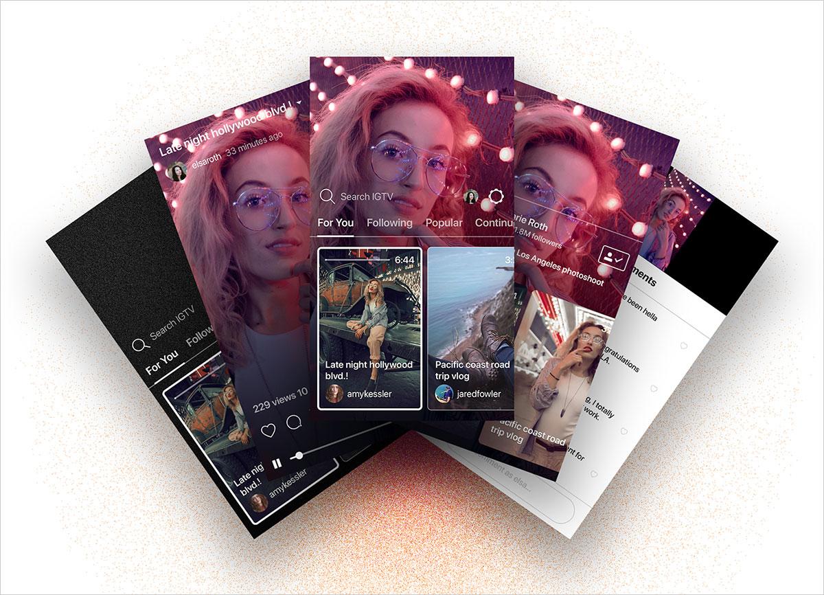 Free-Instagram-IGTV-Video-App-Mockup-PSD-2