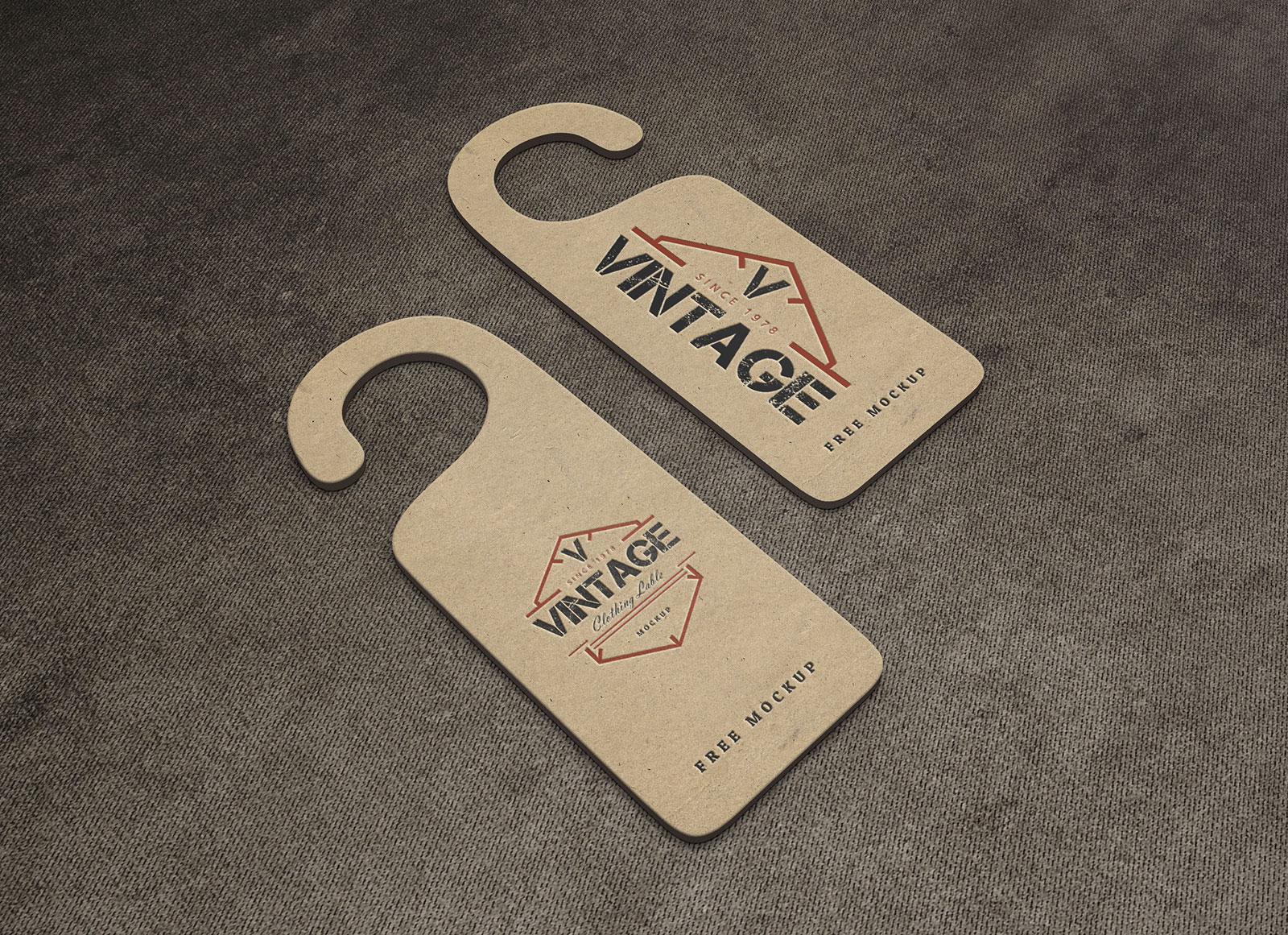 Free-Kraft-Paper-Door-Hanger-Mockup-PSD