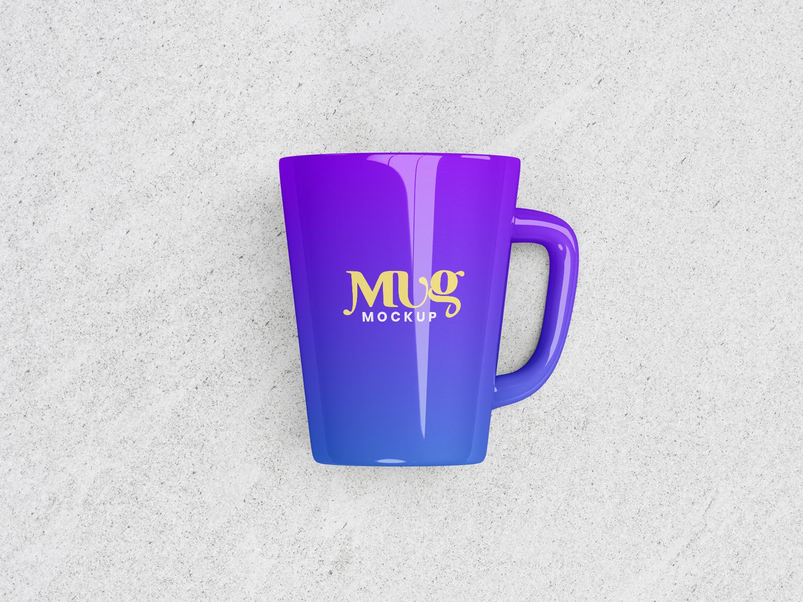 Free Premium Ceramic Mug Mockup PSD Set