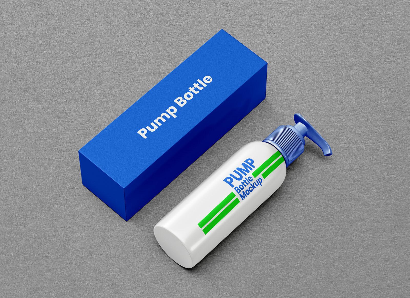 Free-Pump-Dispenser-Bottle-&-Packaging-Mockup-PSD-Set-2