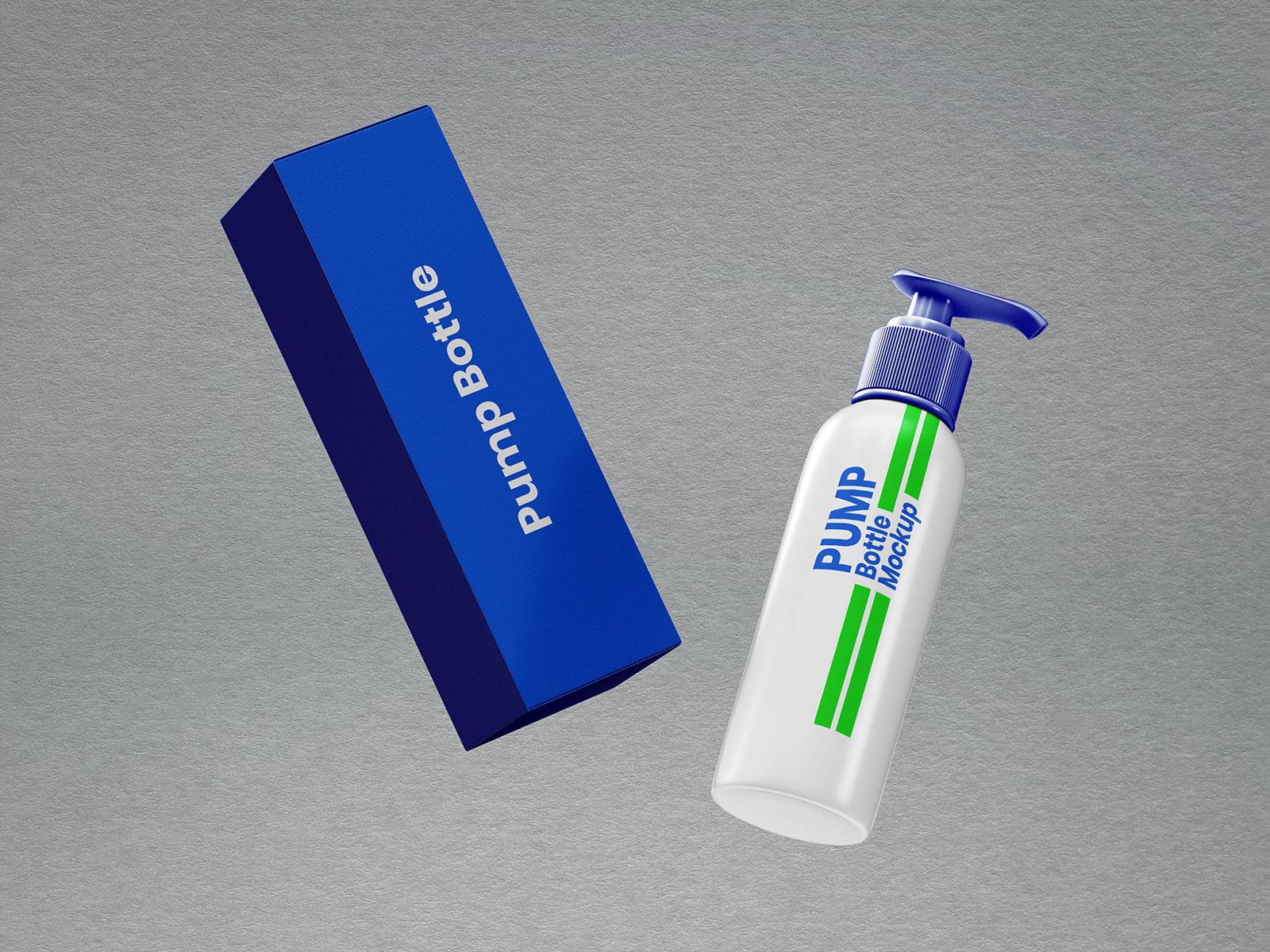 Free-Pump-Dispenser-Bottle-&-Packaging-Mockup-PSD-Set-3