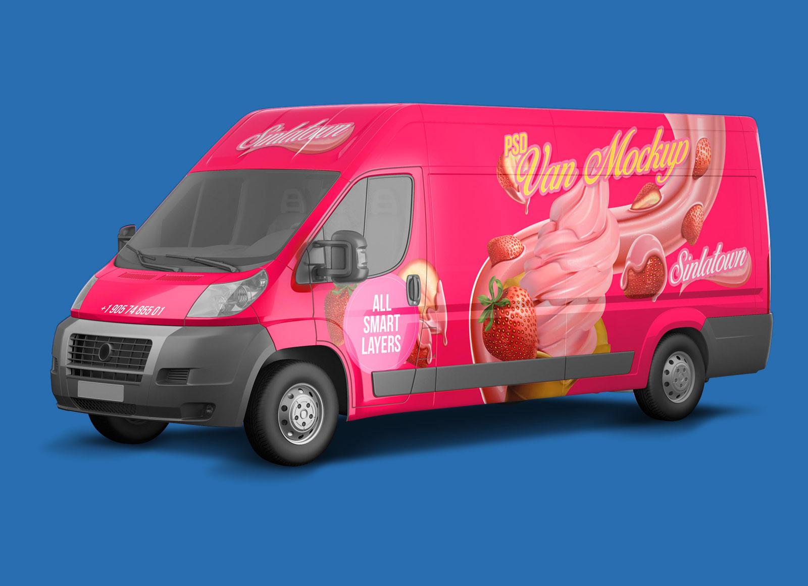 Free-Transporter-Delivery-Panel-Van-Mockup-PSD
