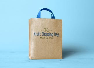 Free-Kraft-Paper-Shopping-Bag-Mockup-PSD-4