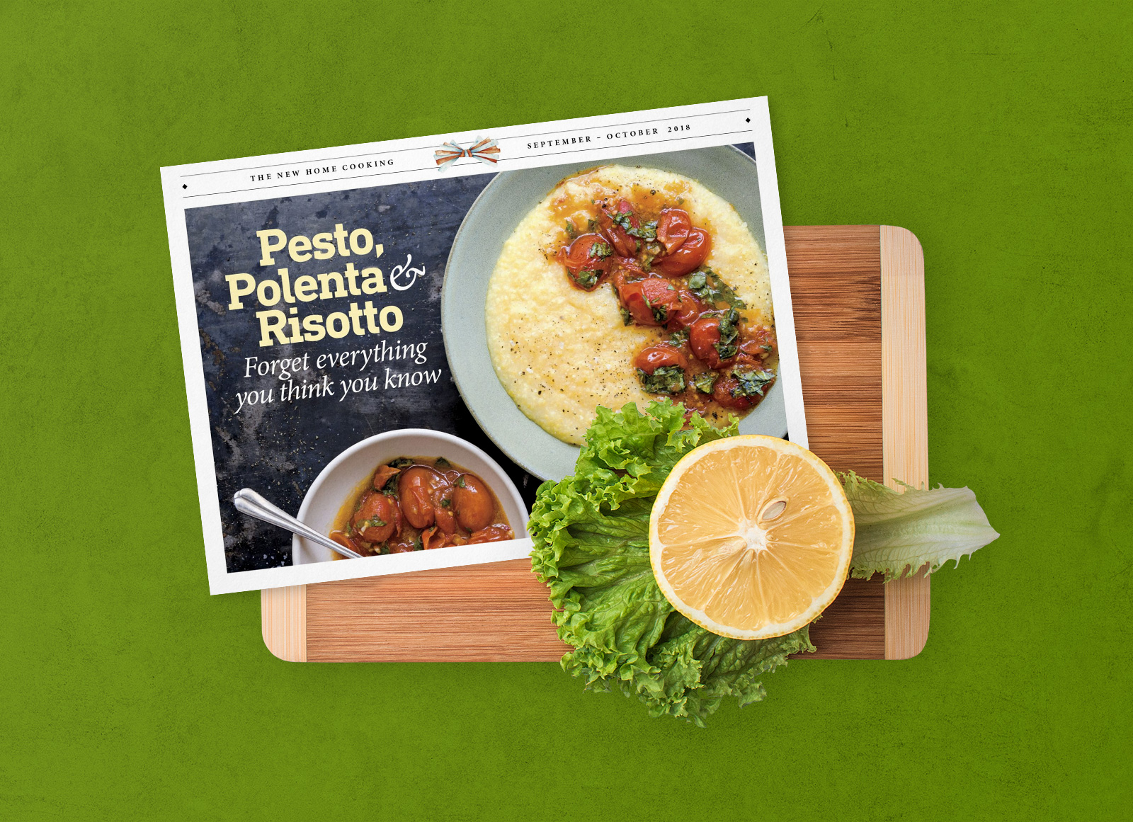 Free Landscape Cooking Recipe Card Menu Mockup Psd Good Mockups