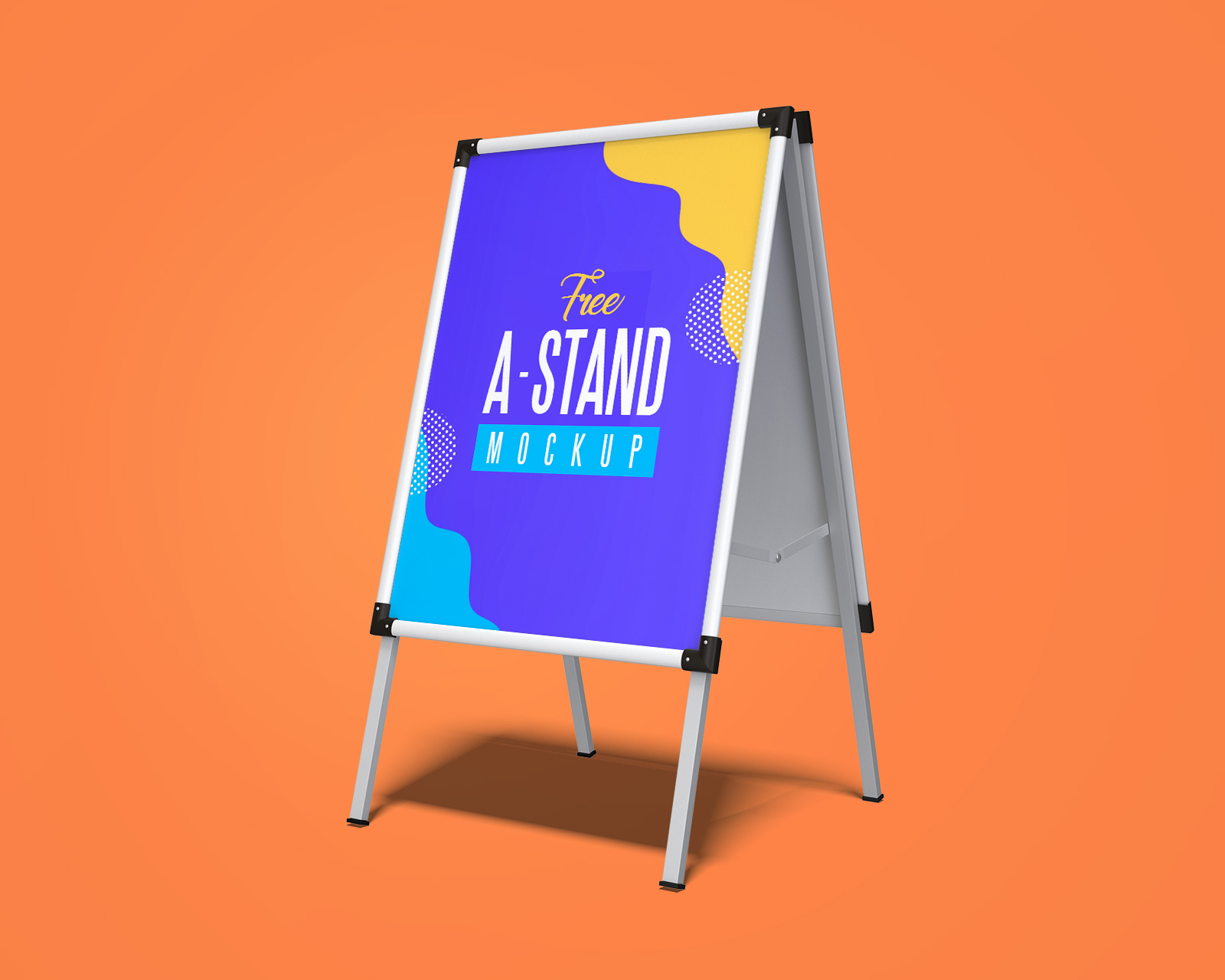 Free-Outdoor-Advertising-A-Stand-Mockup-PSD-Set-2
