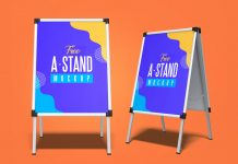 Free-Outdoor-Advertising-A-Stand-Mockup-PSD-Set-3