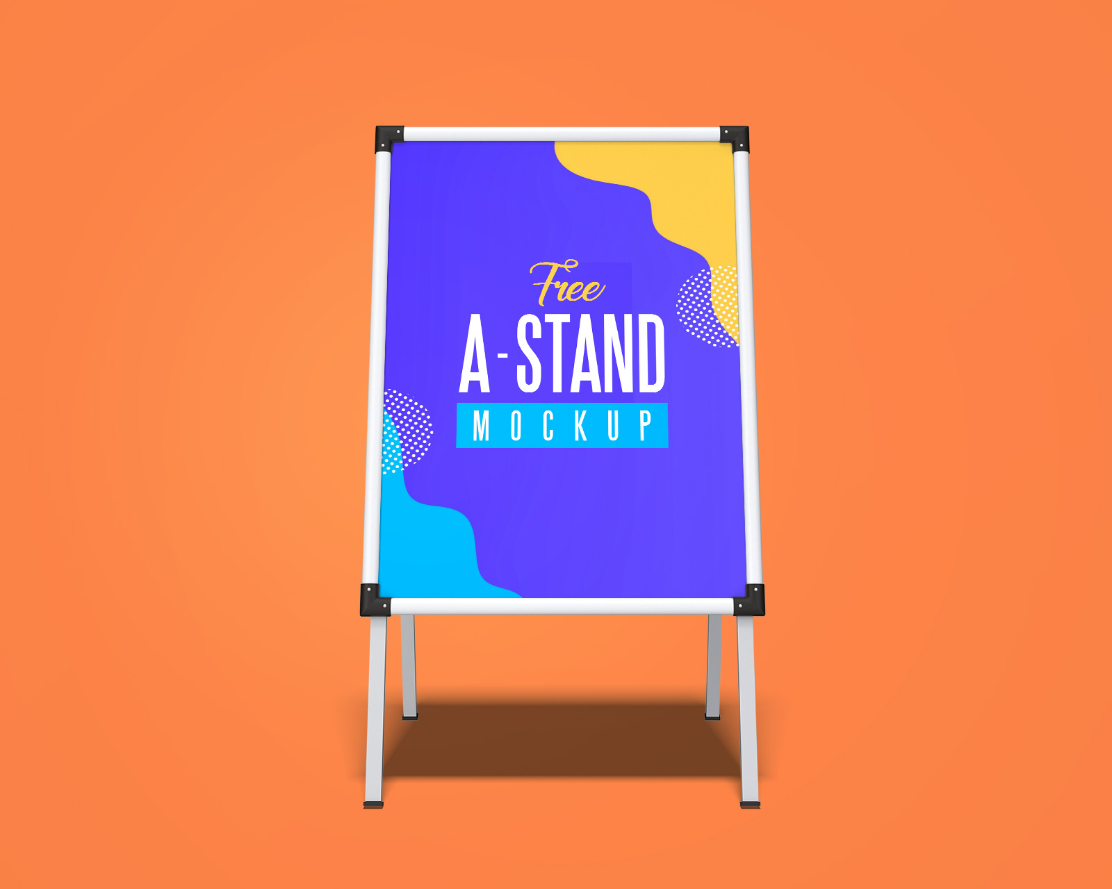 Free-Outdoor-Advertising-A-Stand-Mockup-PSD-Set