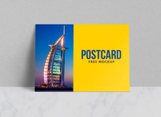 Free-Postcard-Greetings-Card-Mockup-PSD-file