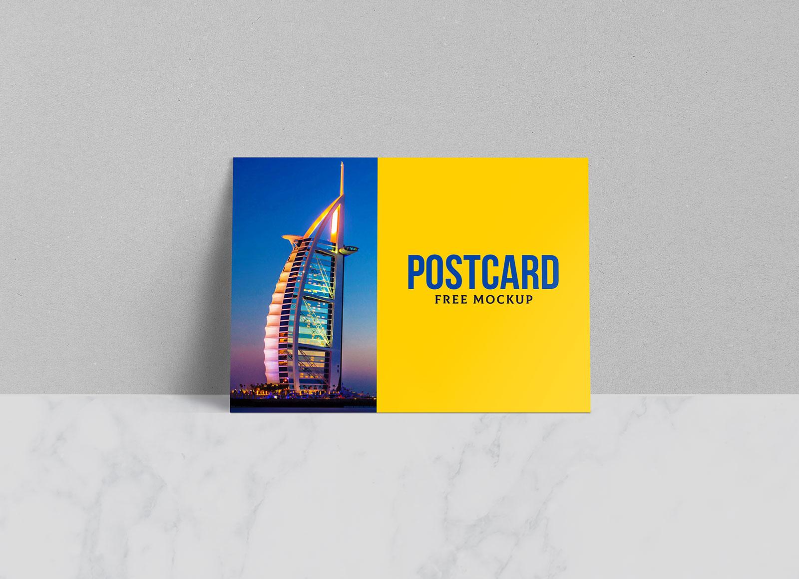 Free-Postcard-Greetings-Card-Mockup-PSD