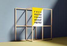 Free-Wooden_Frame_Poster_Mockup_PSD-Set