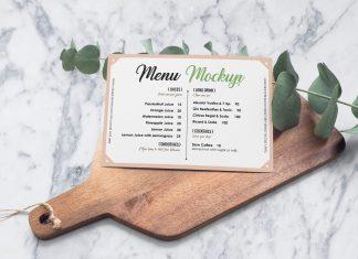 Free-Landscape-Hotel--Restaurant-Menu-Card-Mockup-PSD
