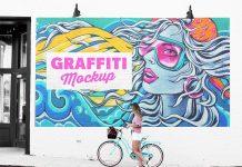 Free-Street-Mural-Wall-Art-Graffiti-Mockup-PSD