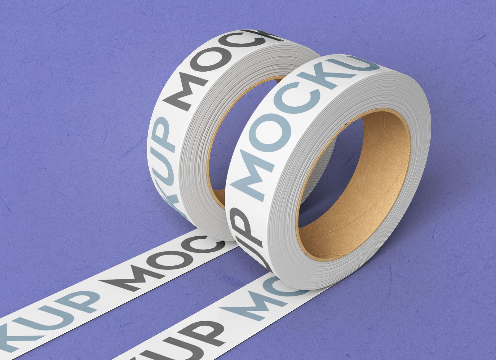 Free Duct Tape Mockup Psd Set Good Mockups