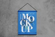 Free-Hanging-Banner-on-Wall-Mockup-PSD-2