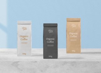 Free-Kraft-Paper-Pouch-Coffee-Packaging-Mockup-PSD