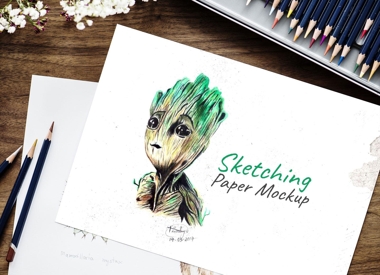 Free-Sketching-Drawing-Paper-Mockup-PSD