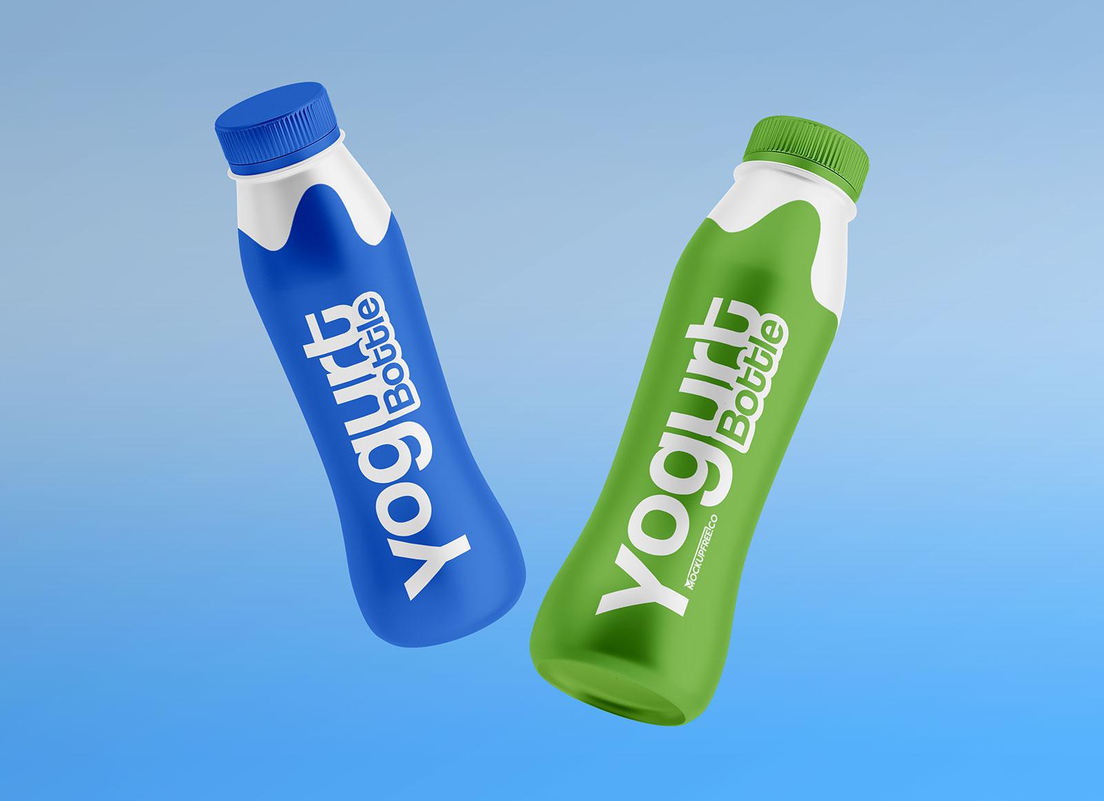 Free-Yogurt-Bottle-Mockup-PSD-Set