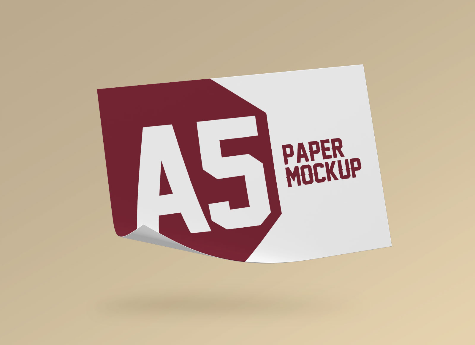 Free-Landscape-A5-Flyer-Paper-Mockup-PSD-Set