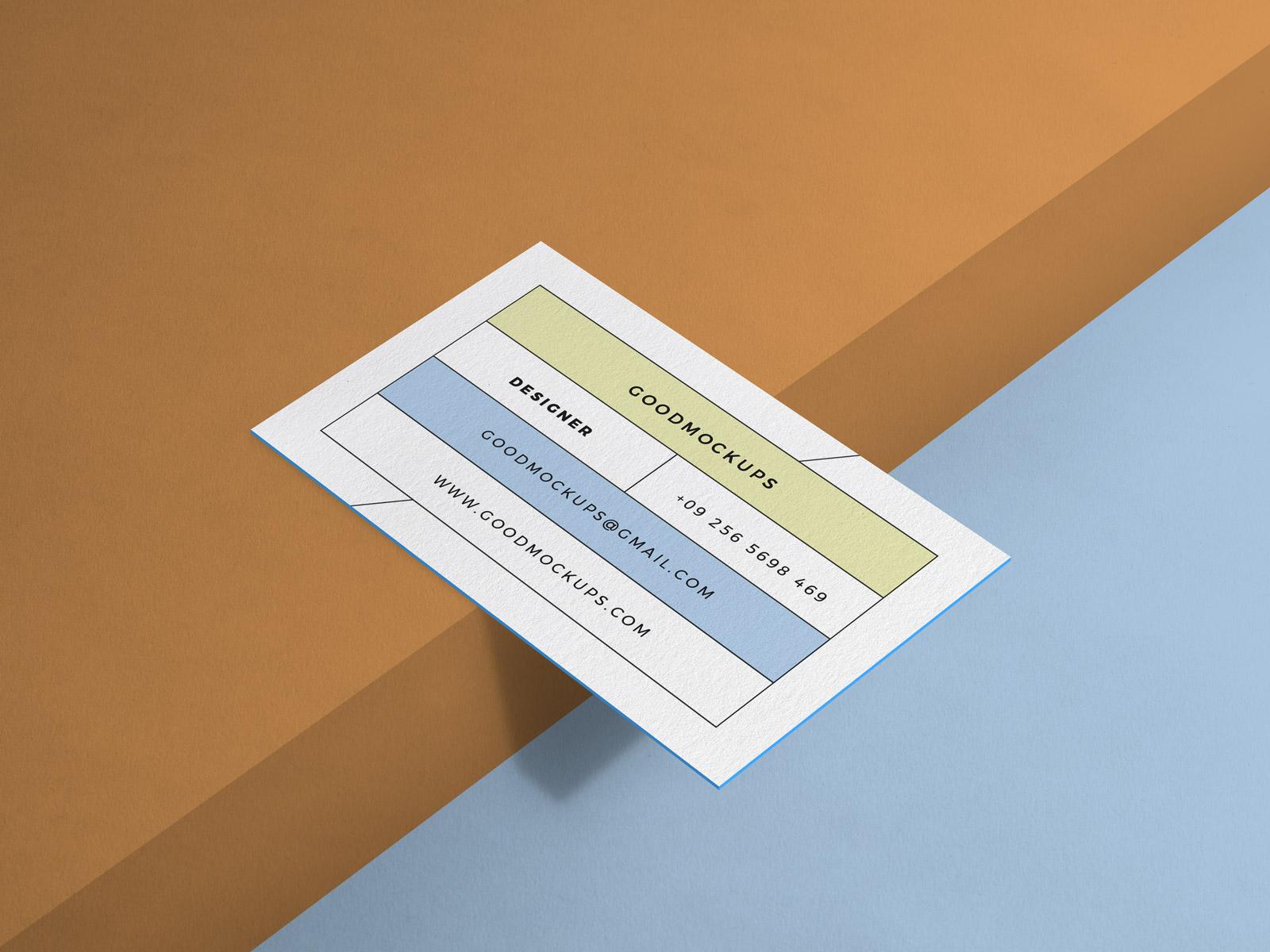 Free-Minimal-Business-Card-Mockup-PSD-2