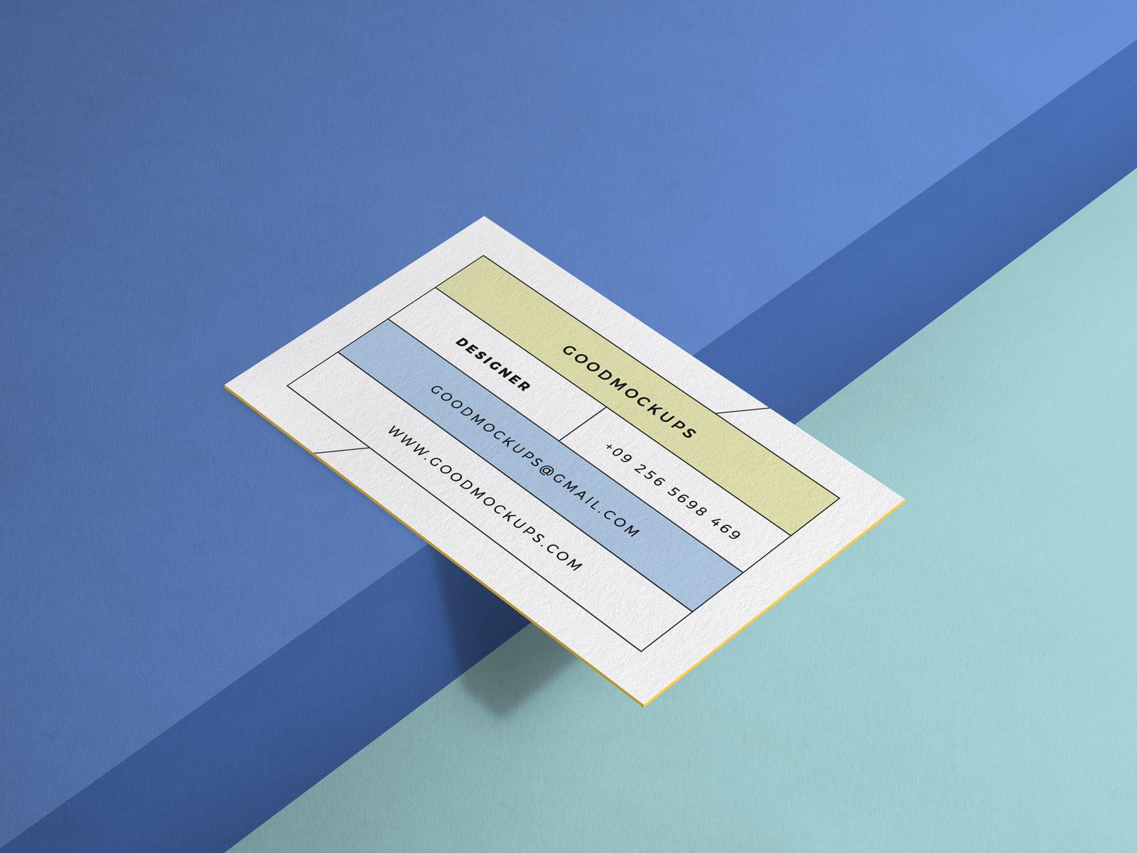 Free-Minimal-Business-Card-Mockup-PSD