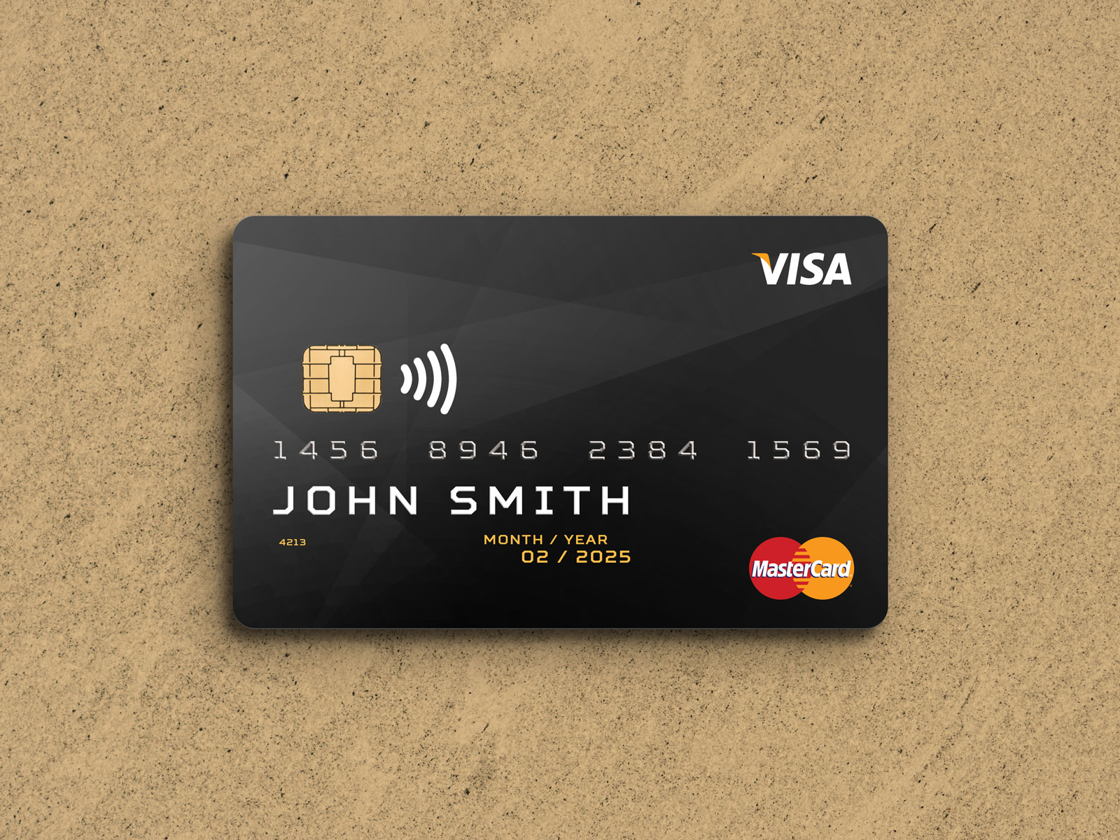 Free Plastic Credit Debit Card Mockup Psd Good Mockups