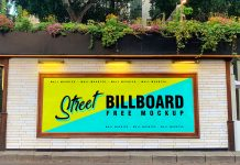 Free-Street-Wall-Mounted-Billboard-Mockup-PSD