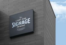 Free-Wall-Mounted-Company-Logo-Signage-Board-on-Building