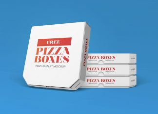 Free-White-Pizza-Box-Packaging-Mockup-PSD