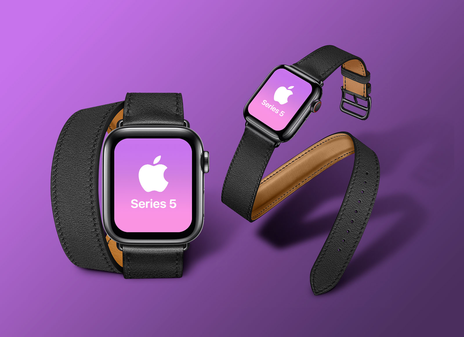 Free-Apple-Watch-Series-5-Mockup-PSD-with-Black-Band