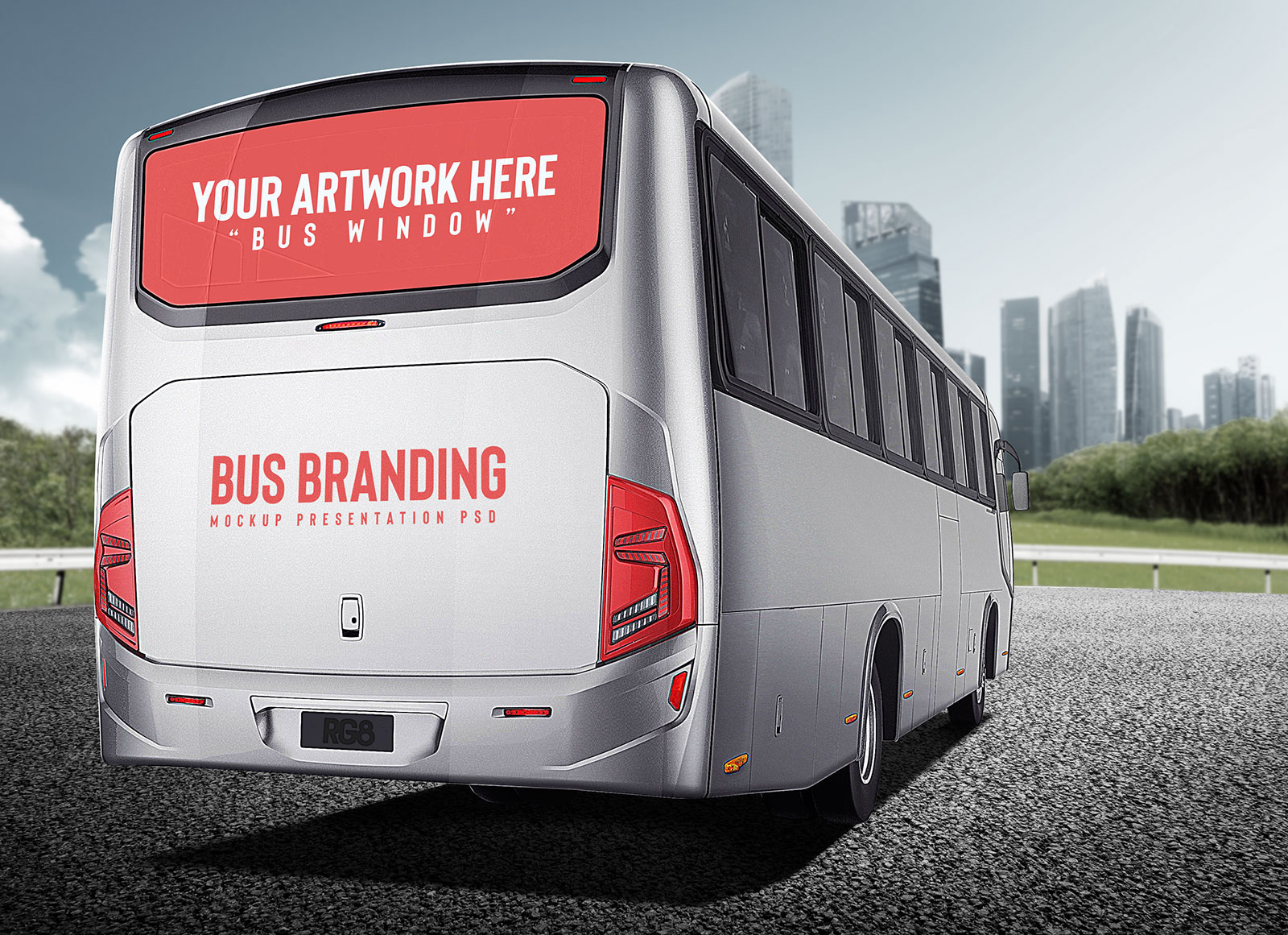 Free-Back-Of-Bus-Ad-Branding-Mockup-PSD-File