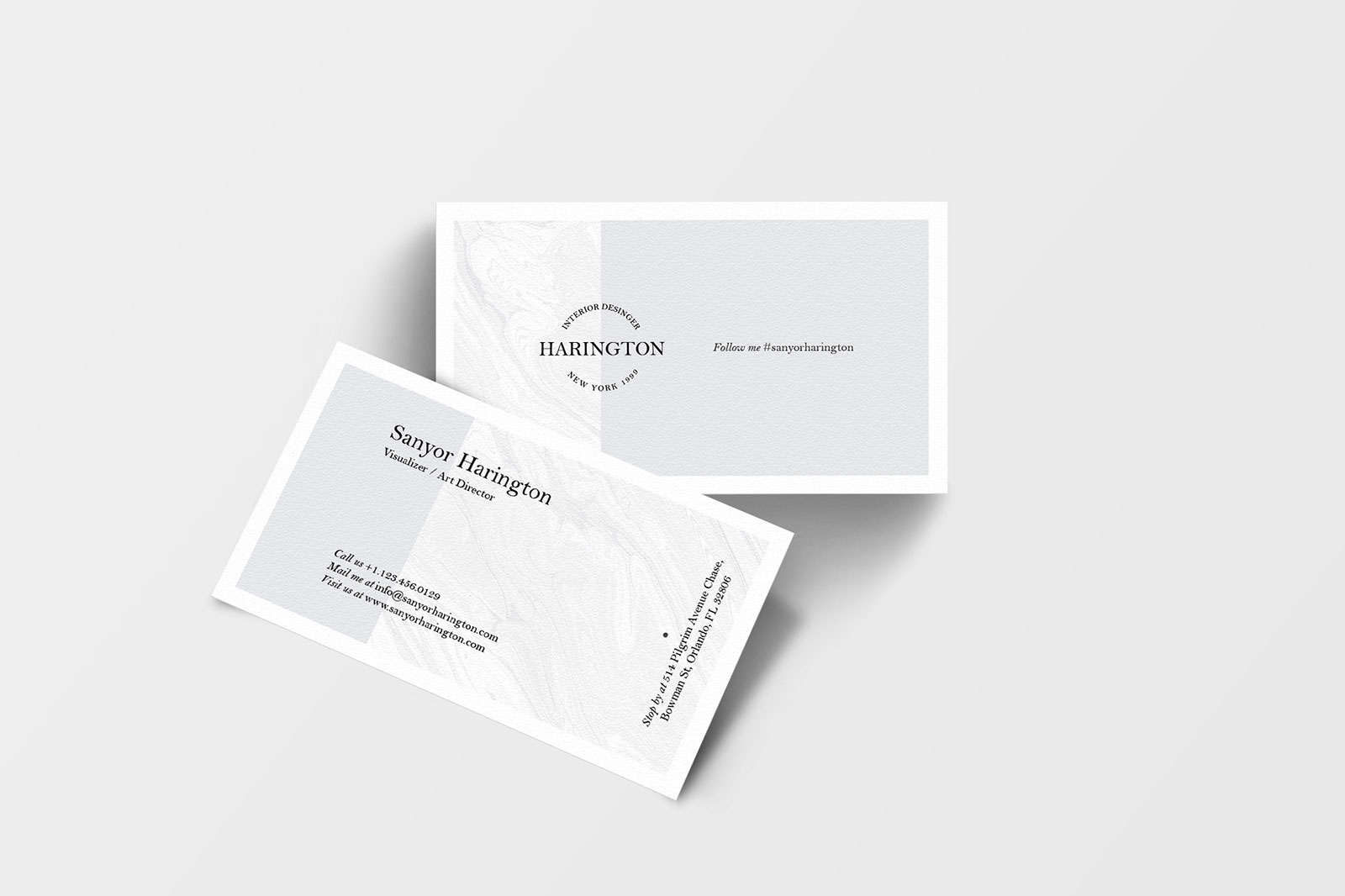 Free Business Card Mockup PSD Bundle (10 PSD Templates)