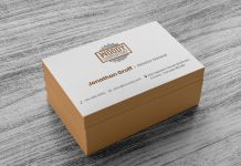 Free Business Card Design & Mockup PSD Template