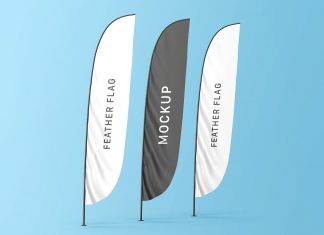 Free-Feather-Flags-Banner-Mockup-PSD