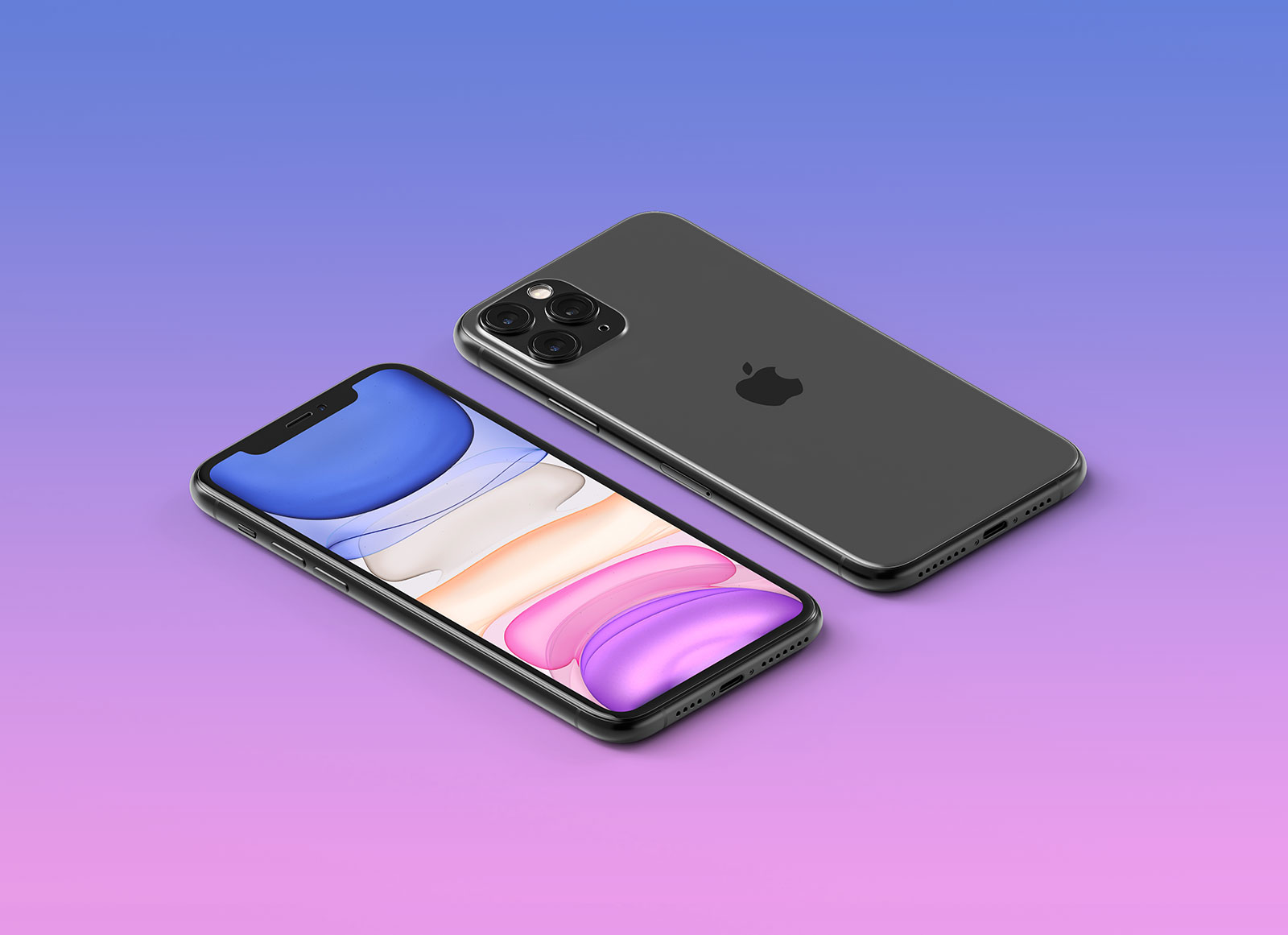 Free-HQ-Isometric-Apple-iPhone-11-Pro-Max-Mockup-PSD