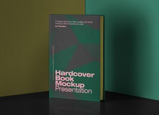 Free-Hardcover-Book-Mockup-PSD-Presentation