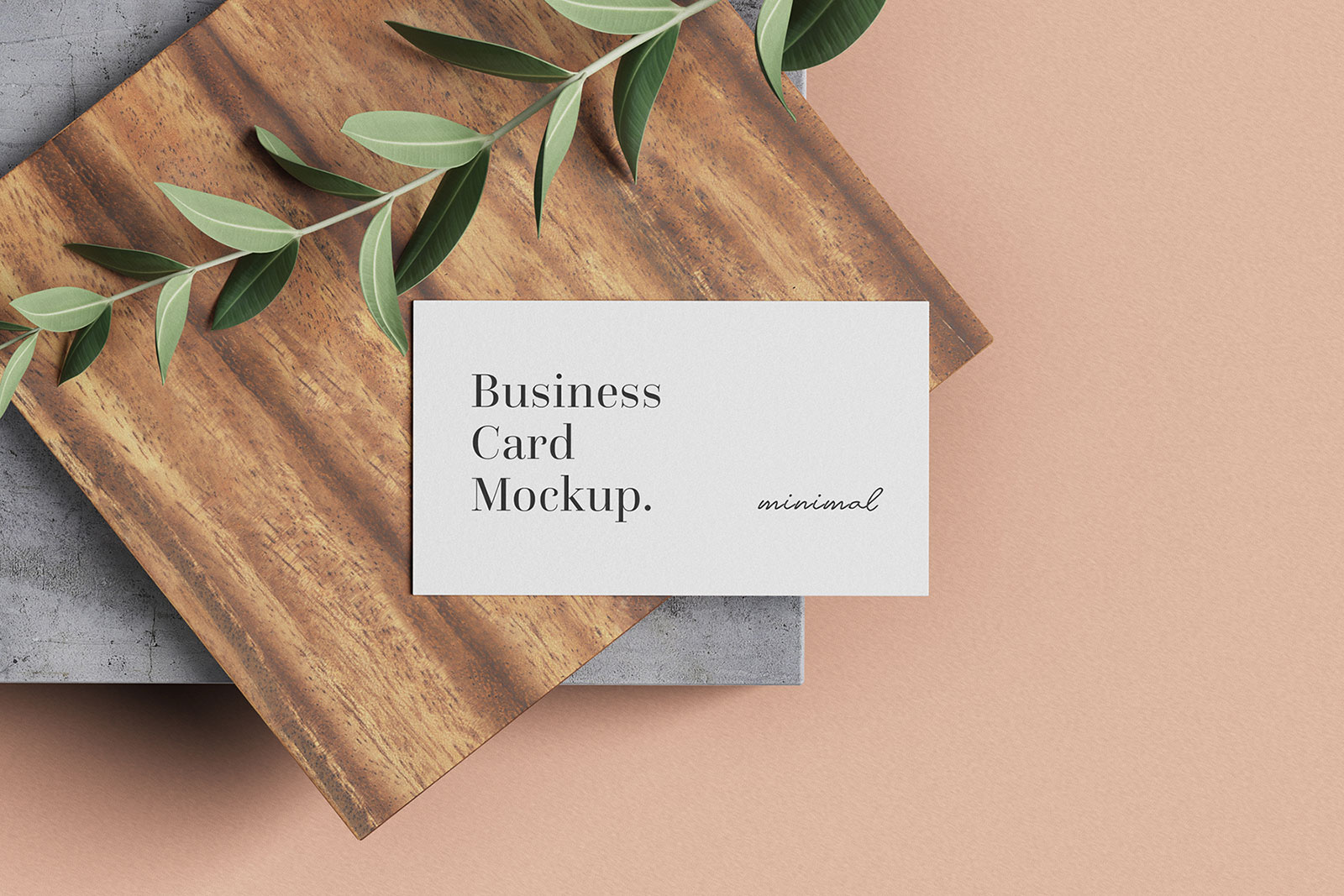 Free-Minimal-Business-Card-mockup-PSD-Set-2